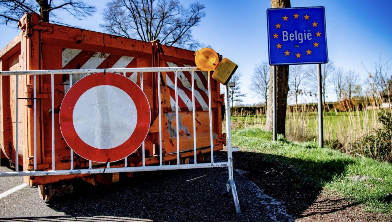Granica między Francją a Belgią rozciąga się na przestrzeni 620 km (fot. R.Utrecht/SOPA/LightRocket/Getty Images)