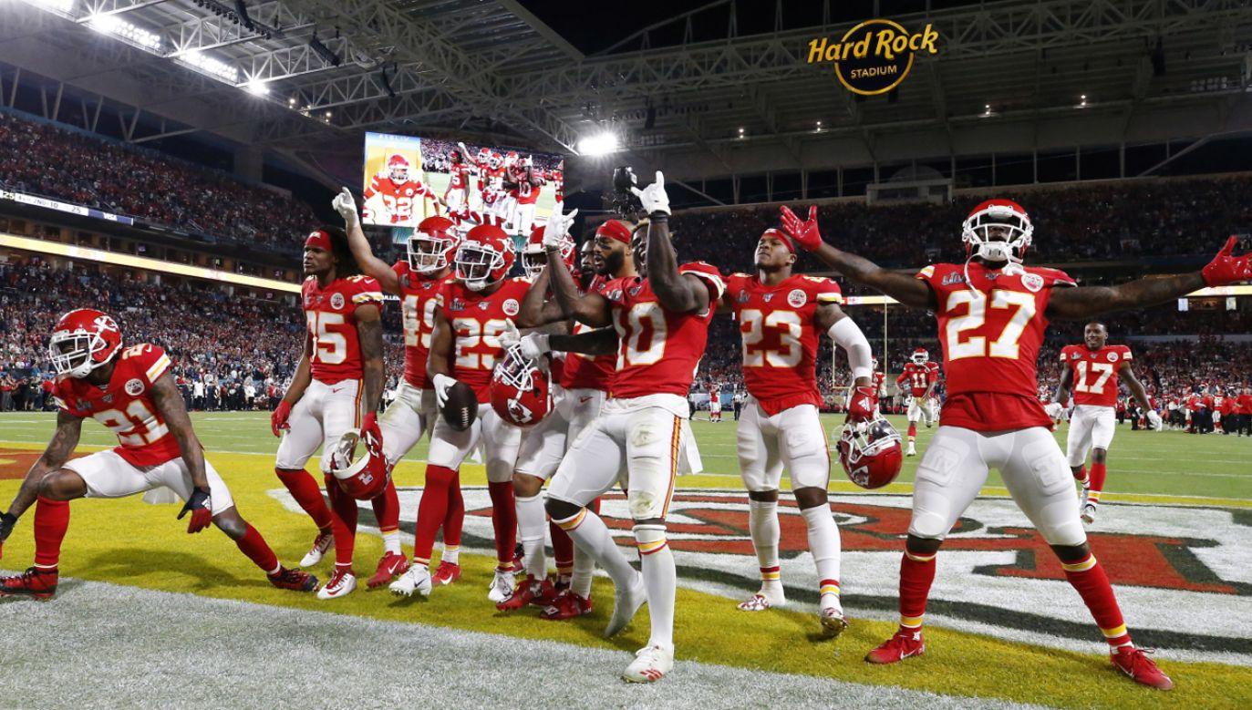 Chiefs w wielkim finale wystąpili po raz trzeci w historii (fot. PAP/EPA/LARRY W. SMITH)