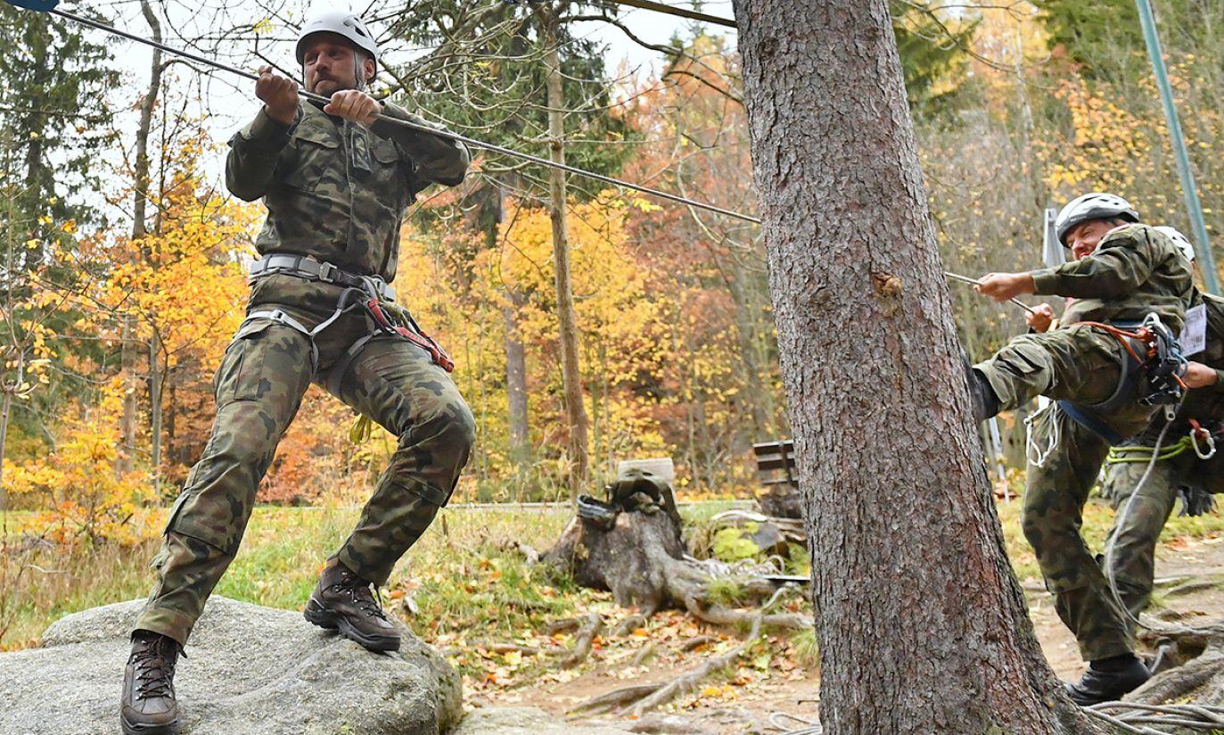 """""""Mountain Warrior 2019"""" - górskie zawody bojowe w Szklarskiej Porębie"""