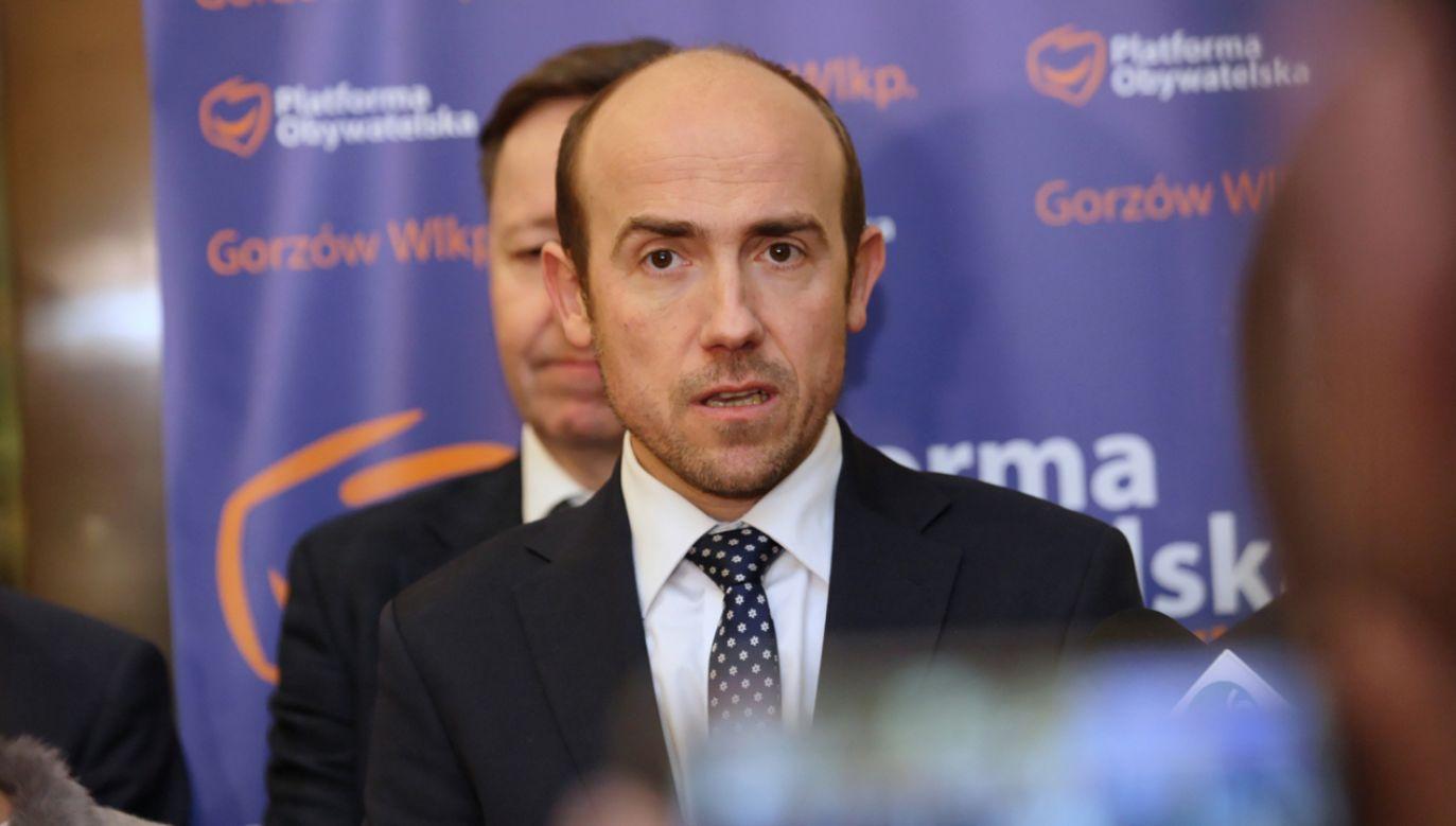 Z-ca rzecznika dyscyplinarnego sędziów oczekuje zrzeczenia się immunitetu przez  posła Borysa Budkę  (fot. PAP/Lech Muszyński)