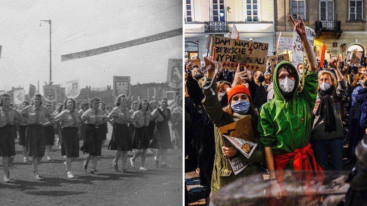 Współcześni agitatorzy nie do końca są świadomi, czyimi są spadkobiercami (fot. PAP; Omar Marques/Getty Images)