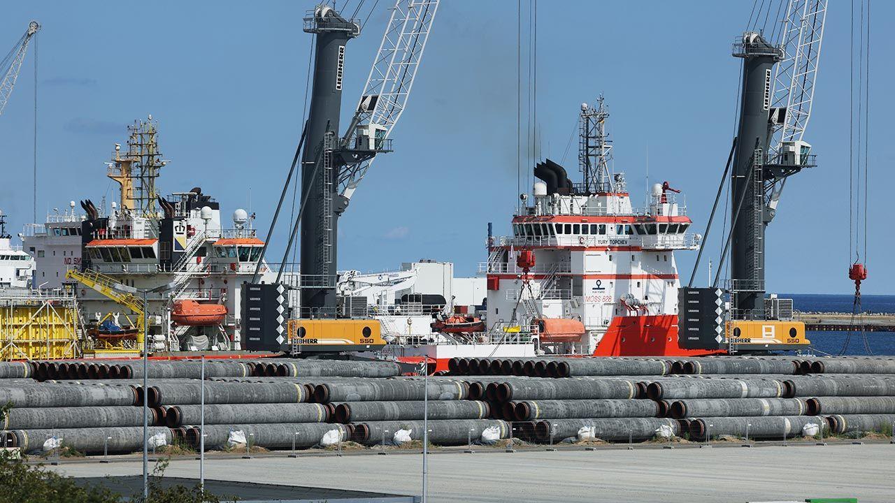 Nord Stream 2 zagrożeniem dla bezpieczeństwa energetycznego i cen energii w Europie (fot.  Sean Gallup/Getty Images)