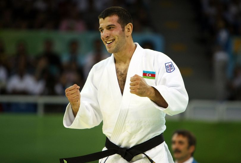 Elnur Mammadli zwyciężył w kategorii do 73 kg (fot. Getty Images)
