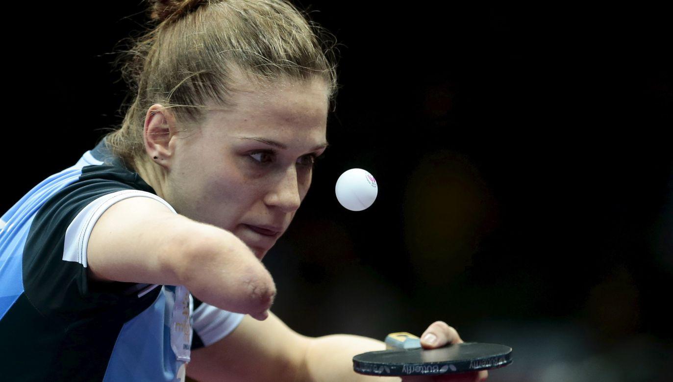 Natalia Partyka miała być jedną z gwiazd warszawskich mistrzostw (fot. Reuters/Aly Song)