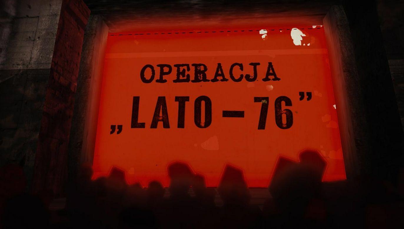 Emisja filmu dokumentalnego w TVP1 (fot. TVP)