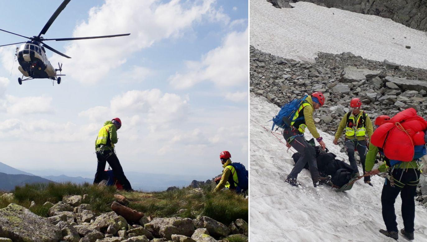 Ratownicy poszukiwali turysty od ubiegłego poniedziałku (fot. Facebook/Horská záchranná služba)