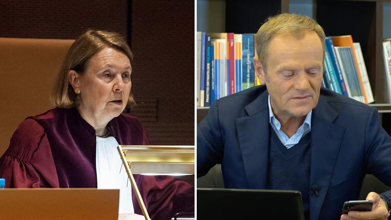 Aktualne wydarzenia w kraju i na świecie komentuje Miłosz Manasterski (fot. PAP/EPA/NICOLAS BOUVY; Facebook/Donald Tusk)