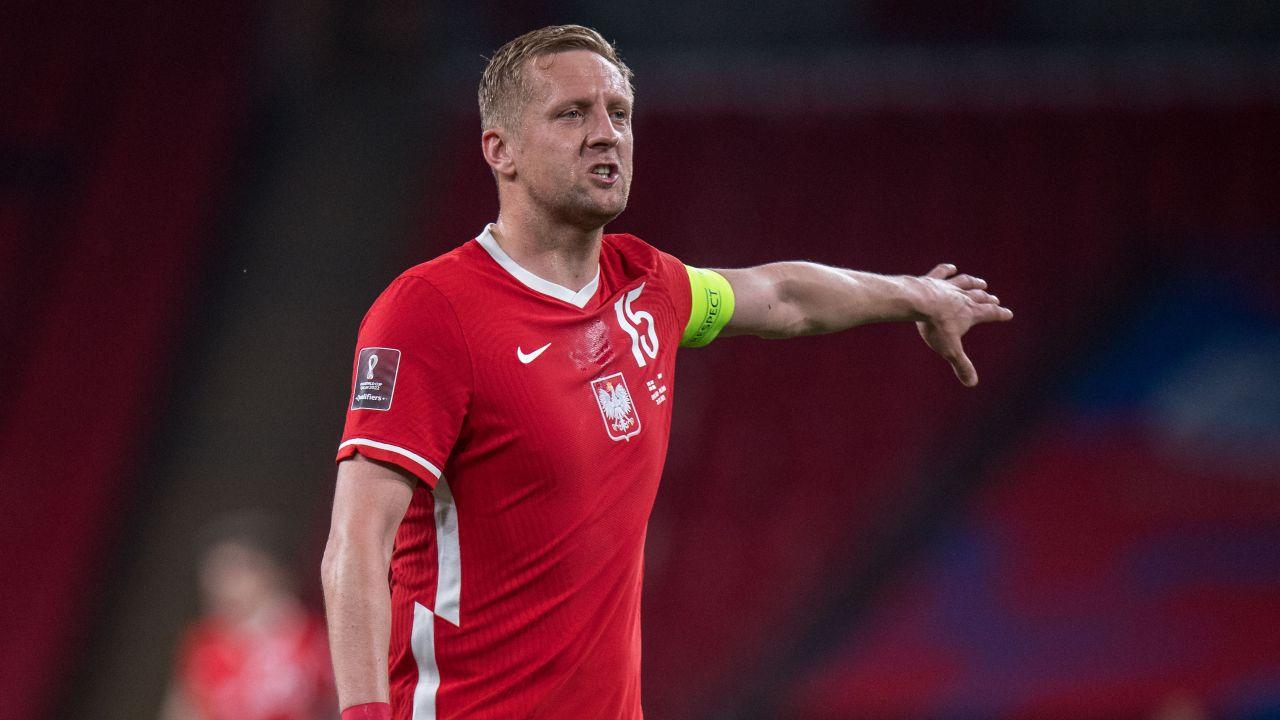 Kamil Glik nie pasuje do stylu gry preferowanego przez Paulo Sousę (fot. Getty Images)