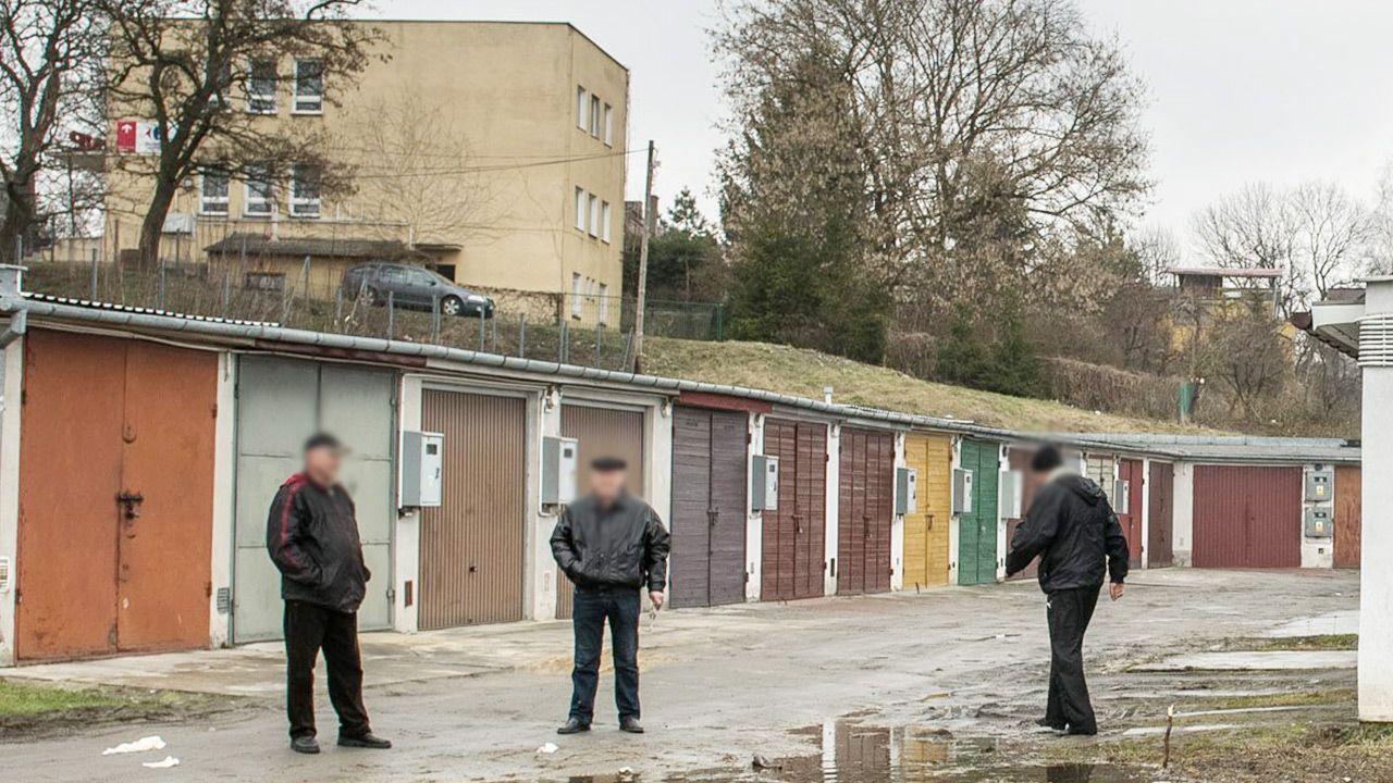 Na miejscu pracuje policja (fot. arch. PAP/Wojciech Pacewicz/ zdjęcie ilustracyjne)
