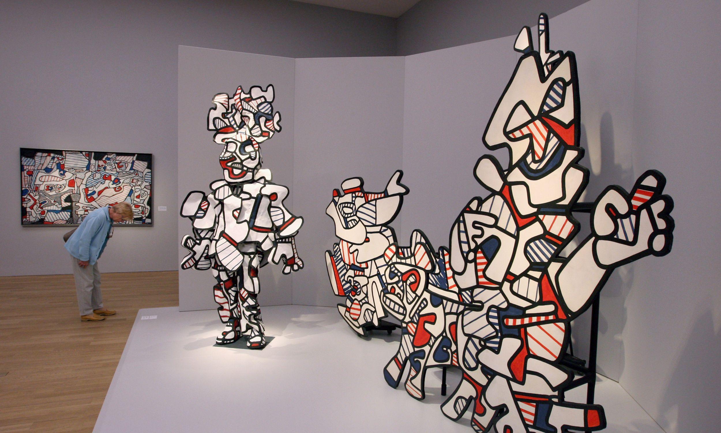 Wystawa prac Jeana Dubuffet w Monachium, 2009 rok. Fot. Miguel Villagran/Getty Images