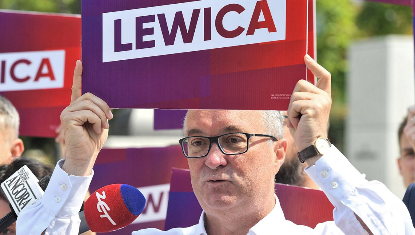 Nazwa komitetu wyborczego partii politycznej musi zawierać nazwę tej partii lub jej skrót  (fot. PAP/Radek Pietruszka)
