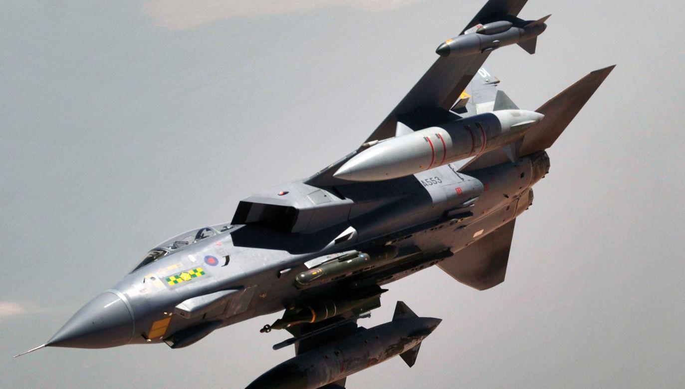 Huti strącili samolot Tornado – nie podano do kogo należał  (fot. Photographer's Name: MSgt. Lance Cheung, USAF