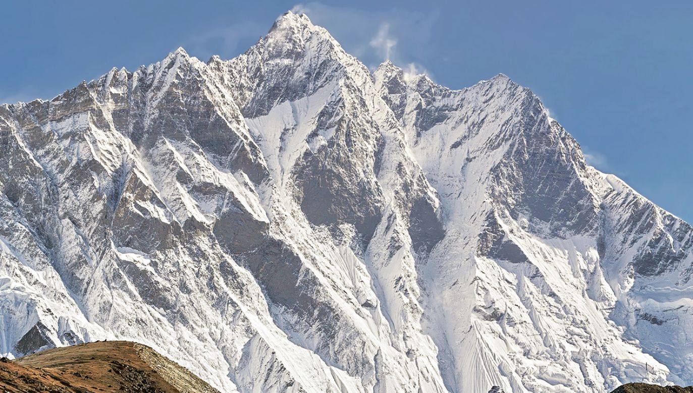 Góra Lhotse to czwarty szczyt świat o wysokości 8516 m n.p.m (fot. Shutterstock/Vadim Petrakov)