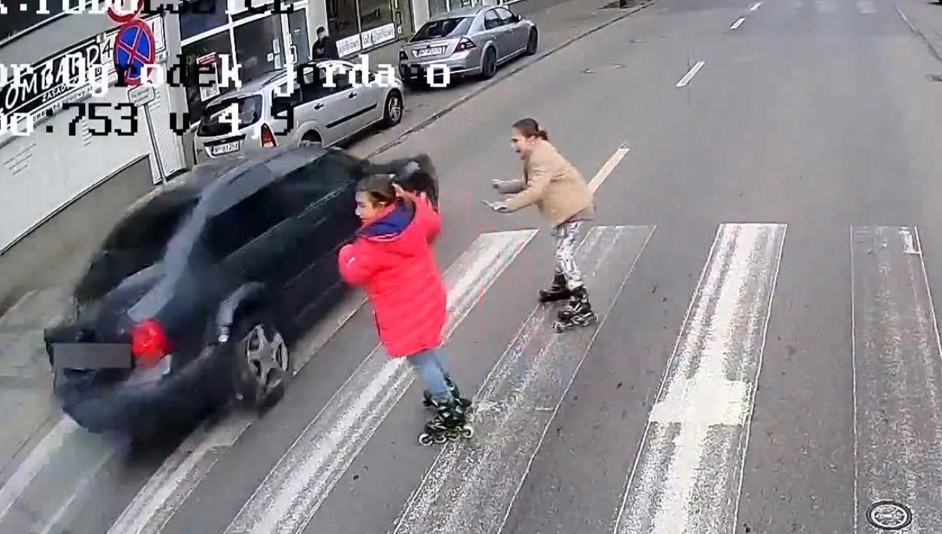 28-letni obywatel Ukrainy przyznał się do popełnienia wykroczenia (fot. Facebook/kmplock)