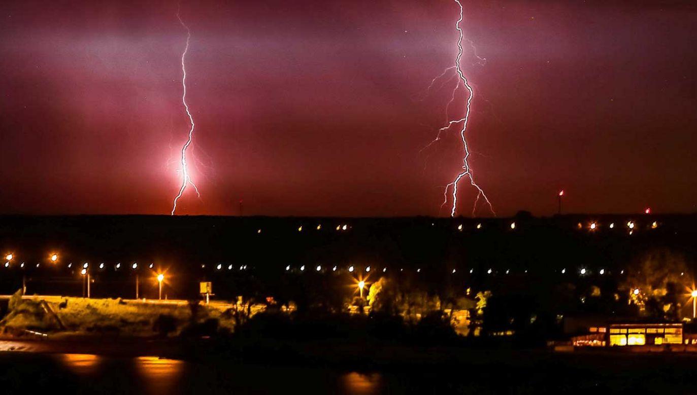 Upały i gwałtowne burze (fot. PAP/Piotr Augustyniak)