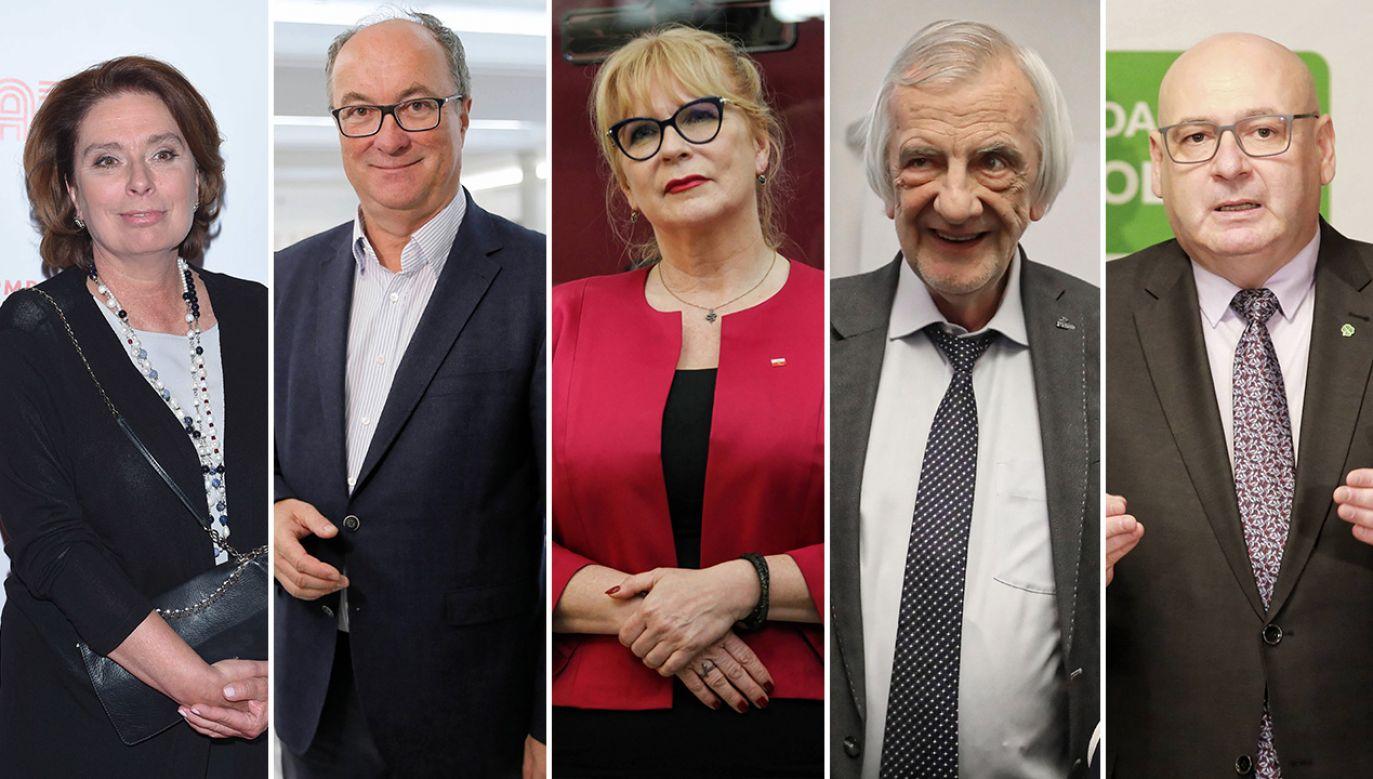 Małgorzata Kidawa-Błońska, Włodzimierz Czarzasty, Małgorzata Gosiewska, Ryszard Terlecki, Piotr Zgorzelski (fot. arch.PAP)