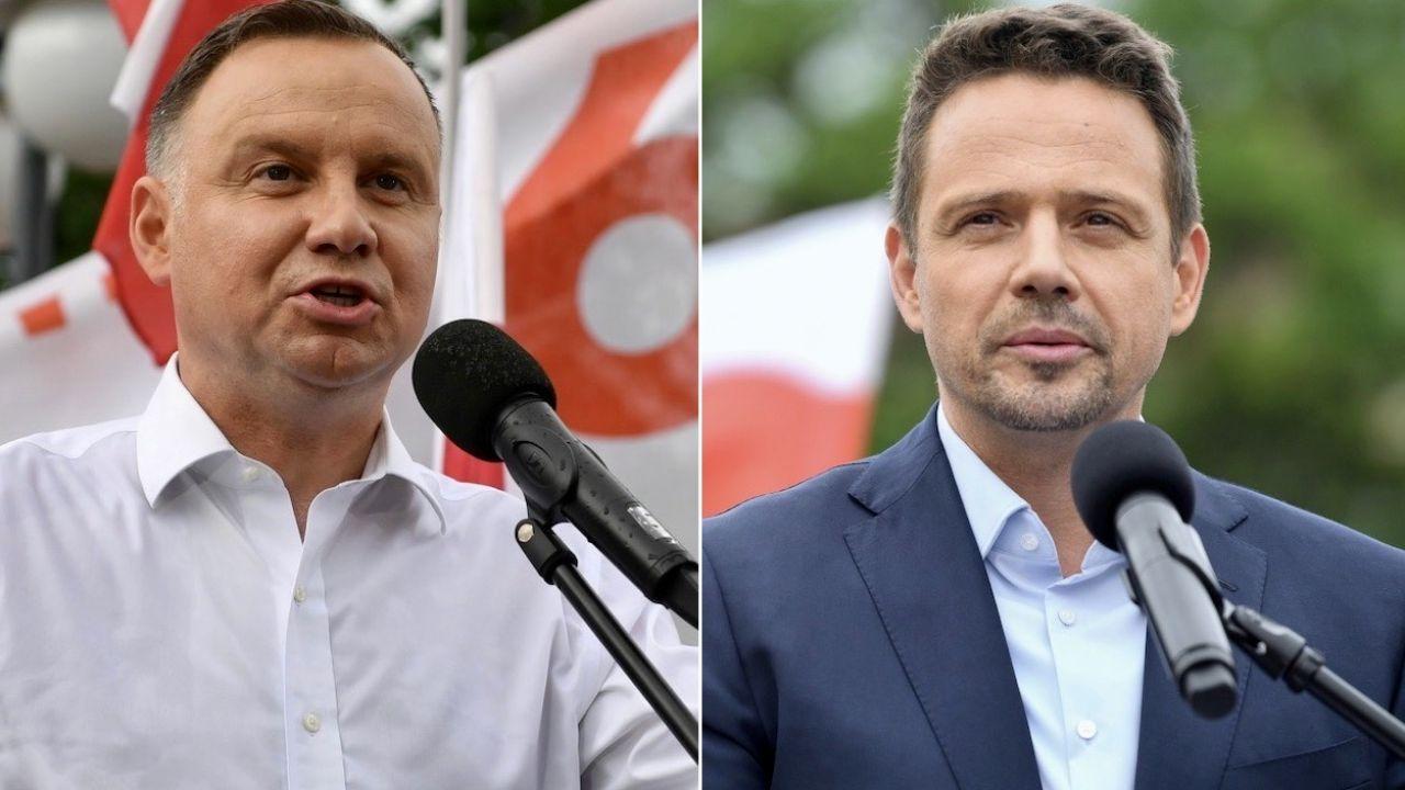 Kto wygra prezydencki wyścig? (fot. PAP/Wojtek Jargiło/PAP/Darek Delmanowicz)
