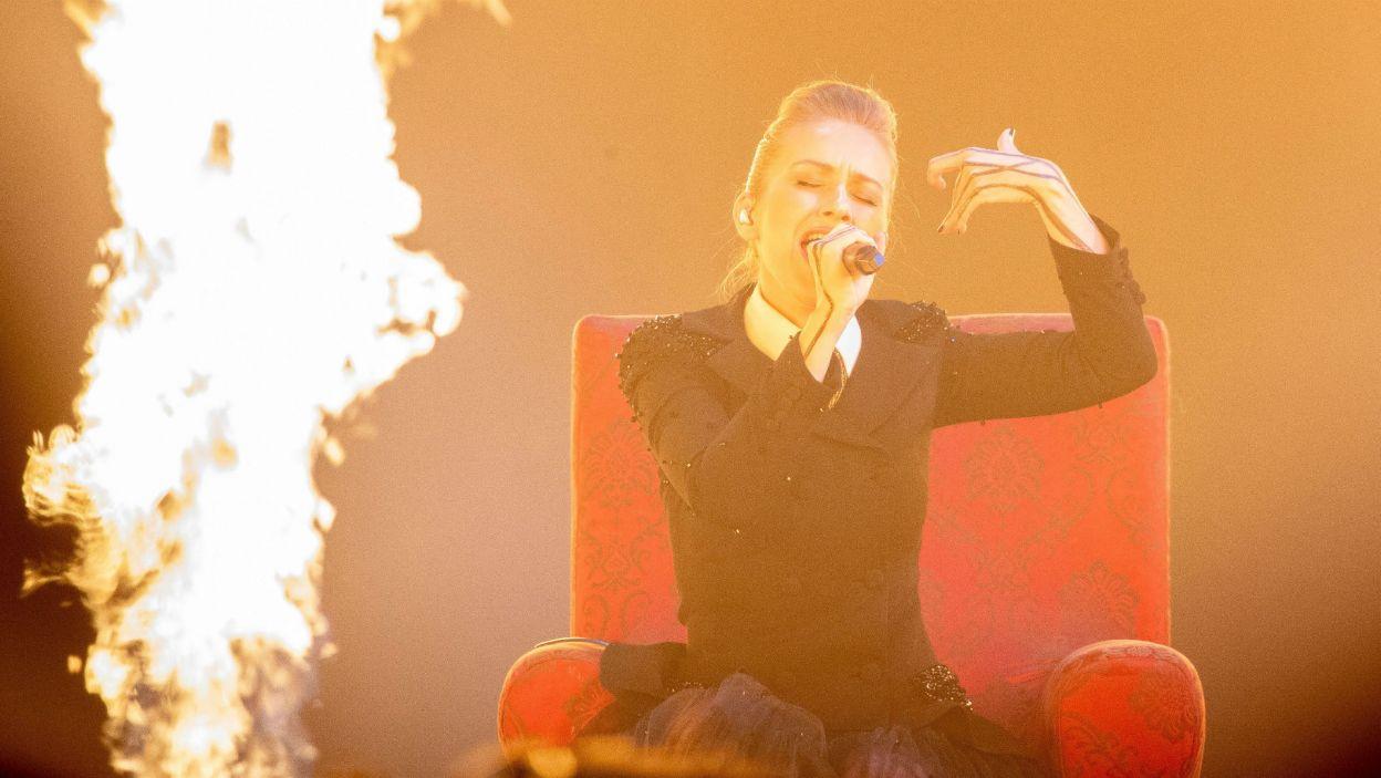 """""""Ognisty"""" występ Ester Peony nie wystarczył. Reprezentantka Rumunii znalazła się poza finałem (fot. Andres Putting/EBU)"""