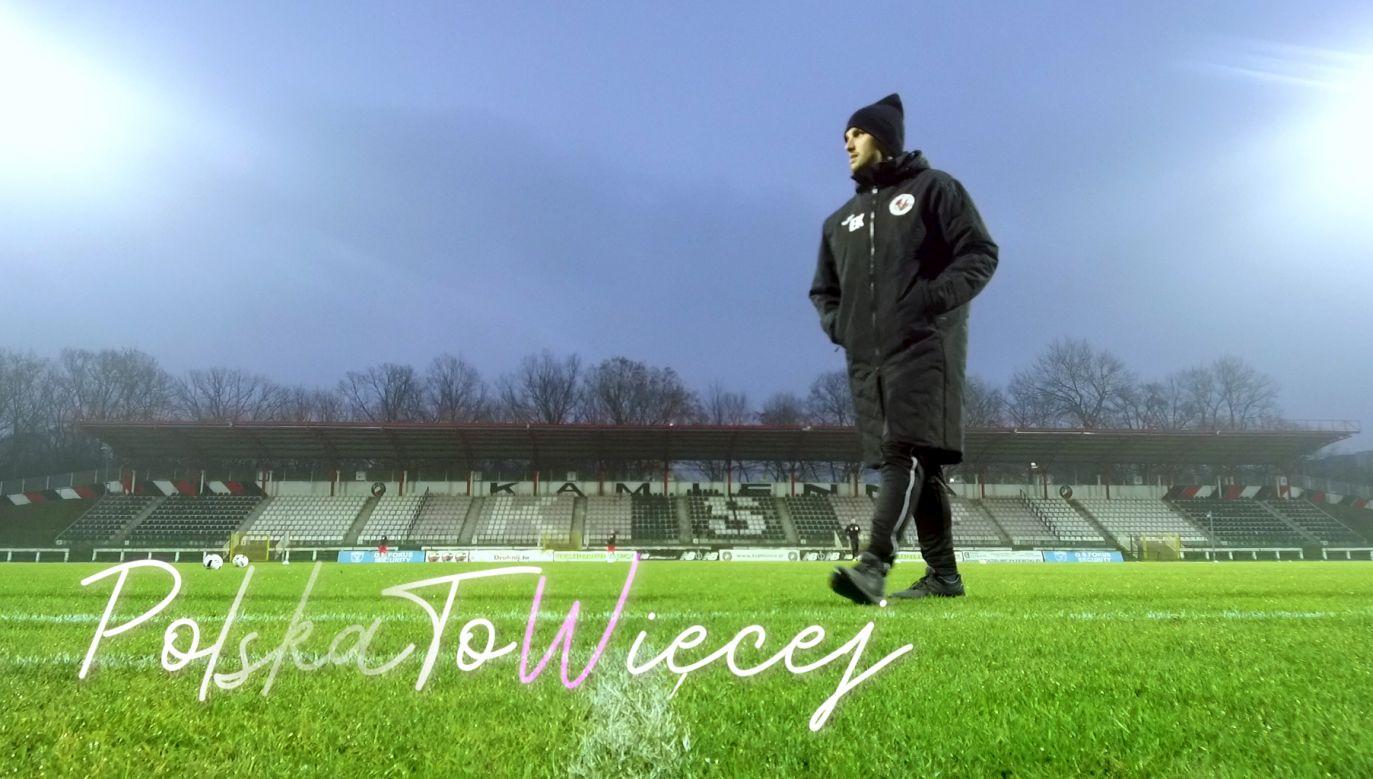 Emil Kot - twórca i trener zespołu Victoria Londyn (fot. portal TVP.info)