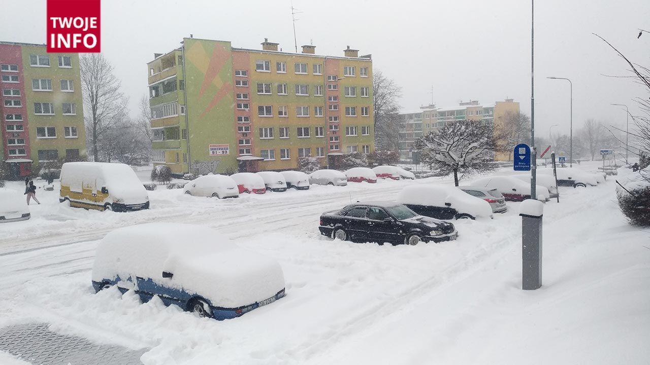 Trudne warunki pogodowe na polskich drogach (fot. Twoje Info)