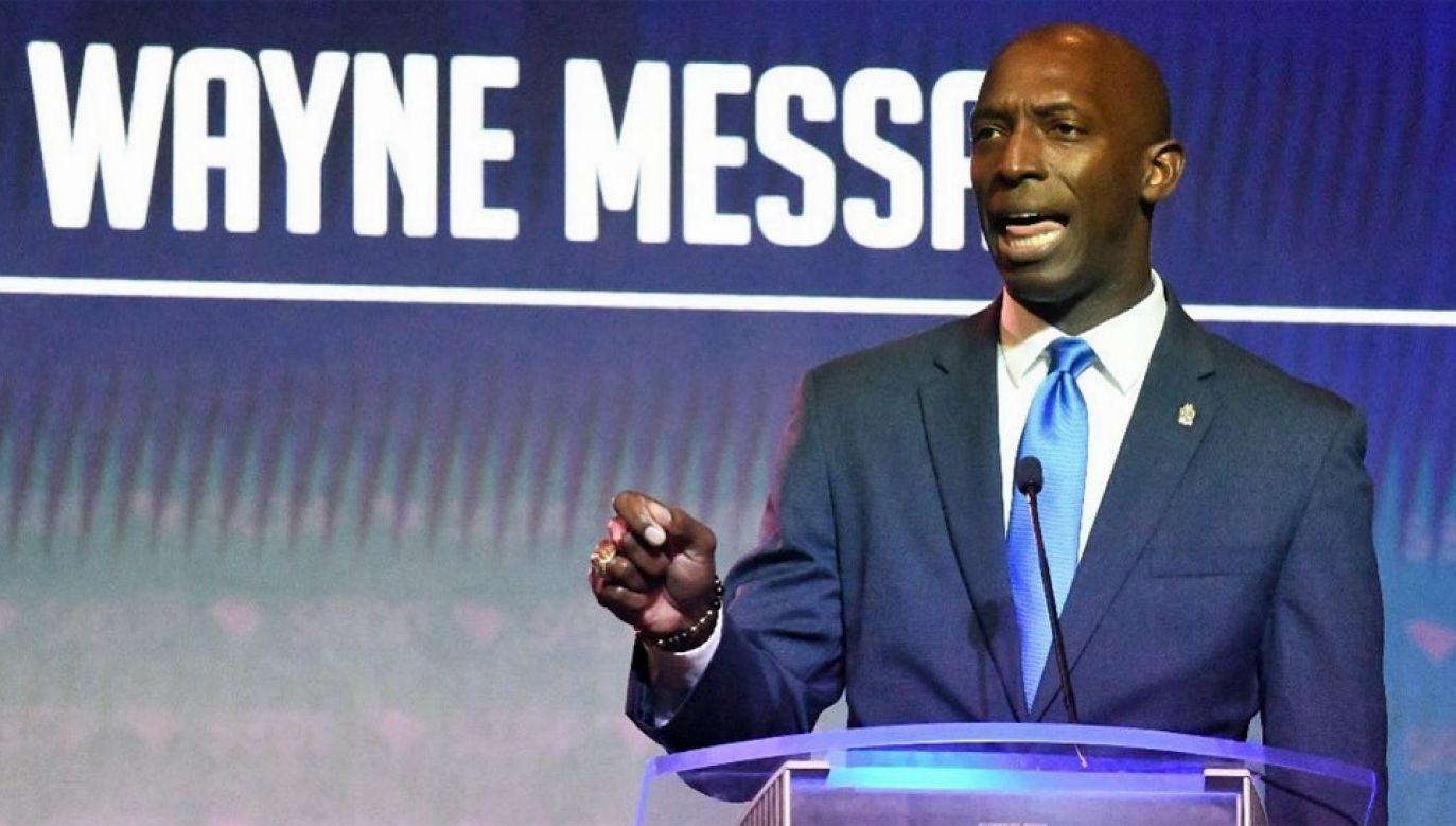 Wayne Messam jest burmistrzem miasta Miramar na Florydzie (fot. FB/WayneForAmerica)