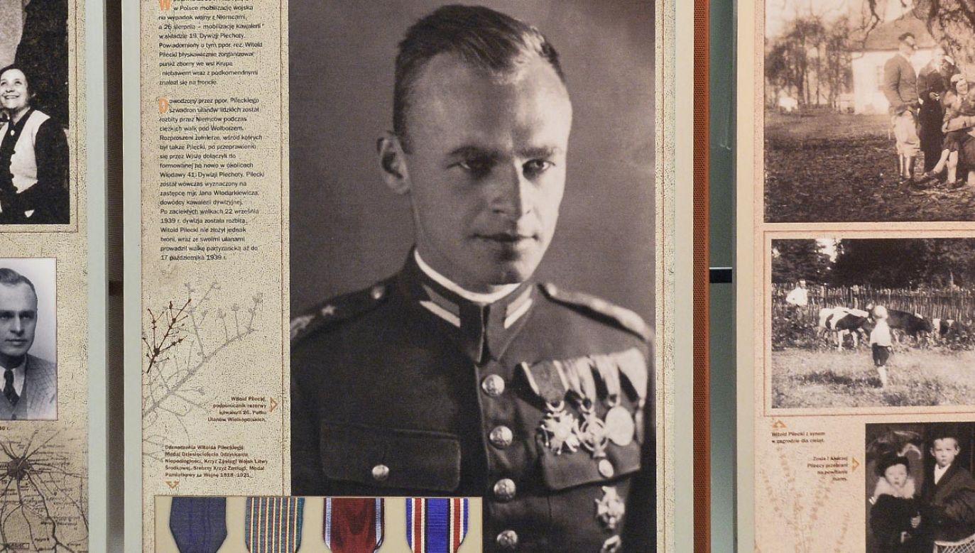 Witold Pilecki jako ochotnik zgłosił siędo Auschwitz (fot. Forum/Lukasz Dejnarowicz)