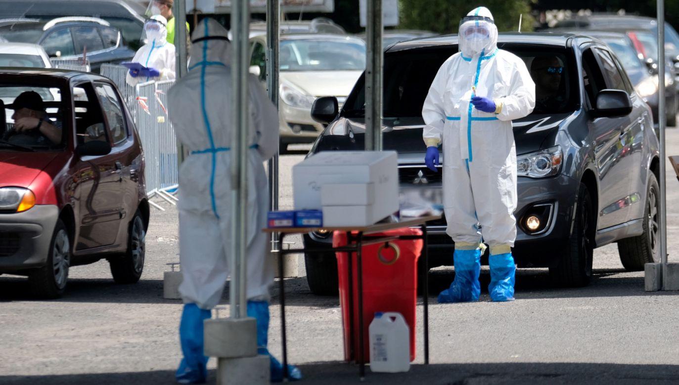 Najnowsze dane o epidemii koronawirusa w Polsce (fot. PAP/Andrzej Grygiel)