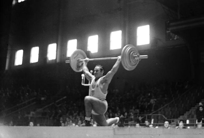 Stanley Stanczyk – mistrz wagi średniej (fot. Getty Images)