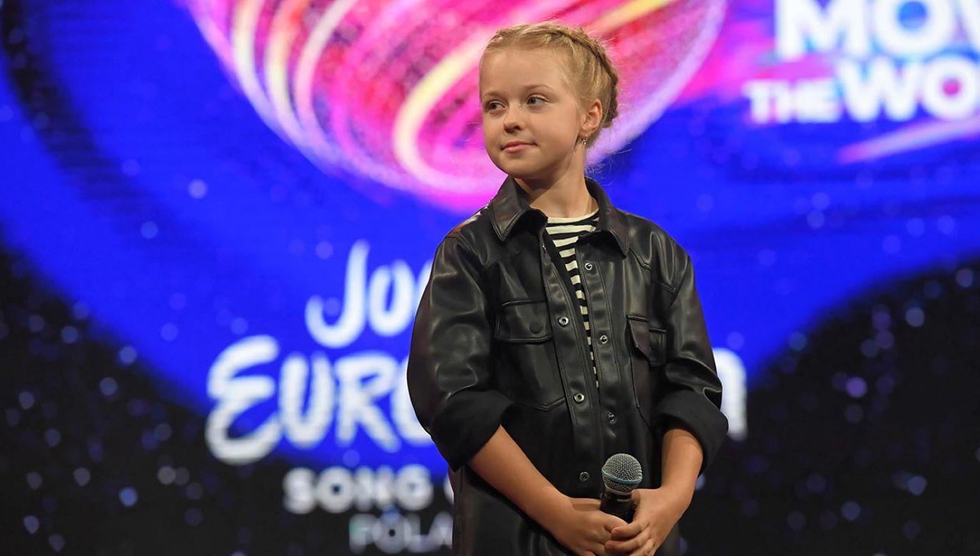 10-letnia Ala Tracz reprezentuje Polskę w finale Eurowizji Junior 2020 (fot. PAP/Piotr Nowak)