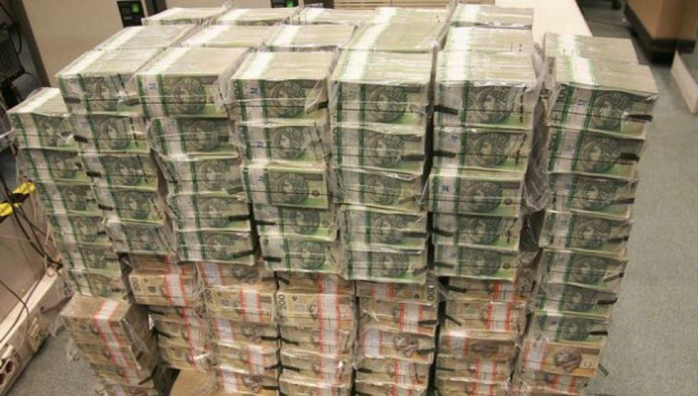 Na razie nie wiadomo, co się stało z wyłudzonymi pieniędzmi (fot. NBP, zdjęcie ilustracyjne)