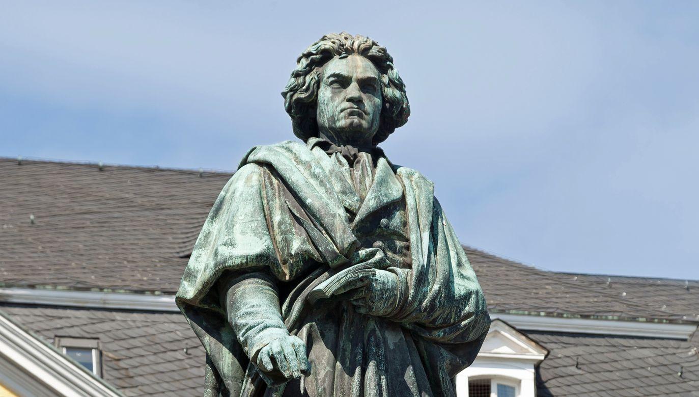 Pomnik Ludwiga van Beethovena w Bonn (fot. Wikimedia)