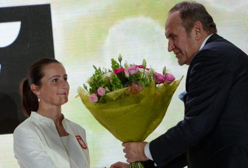 Srebrna medalistka w strzelectwie (fot. PAP/Bartłomiej Zborowski)
