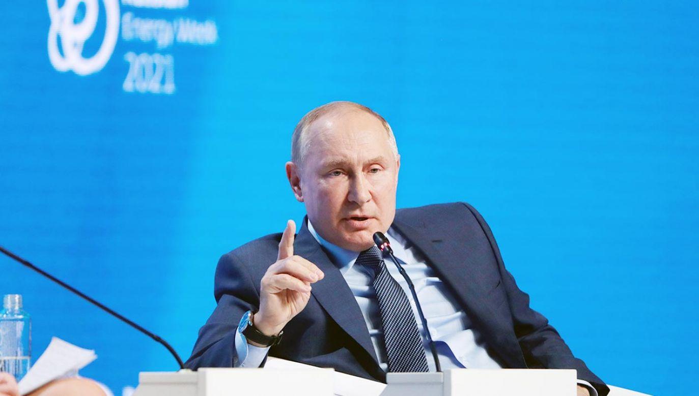 Władimir Putin (fot. PAP/EPA/MIKHAIL METZEL / SPUTNIK / KREMLIN / POOL / POOL)