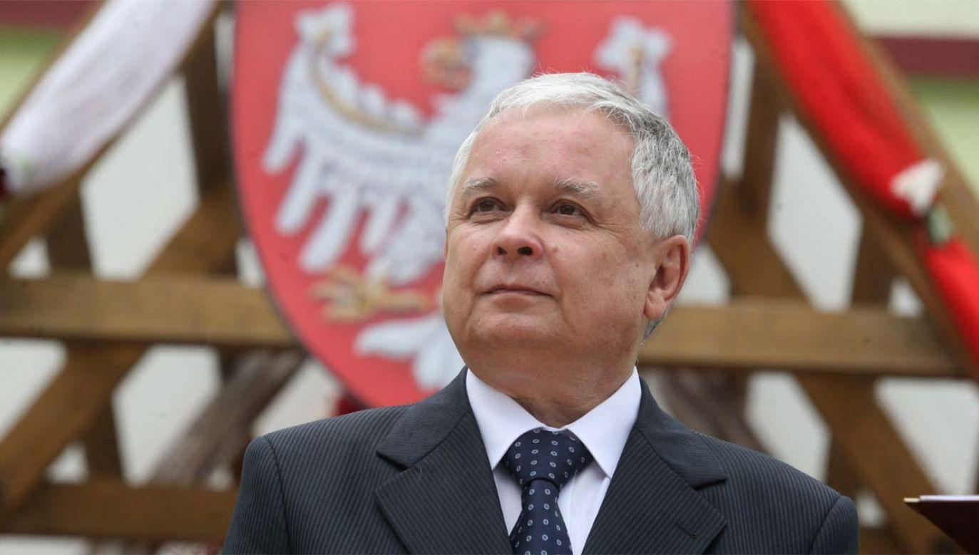 Prezydent Lech Kaczyński zginął w katastrofie smoleńskiej (fot. KPRP)