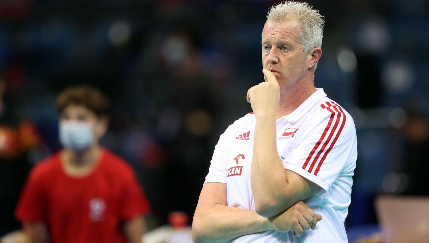 Vital Heynen może stanąć do konkursu na trenera kadry siatkarek (fot. PAP)