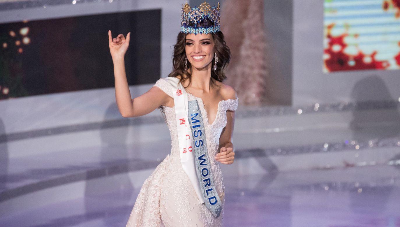Koronę Miss World otrzymała Vanessa Ponce de Leon z Meksyku (fot. PAP/EPA/QI MIAO)