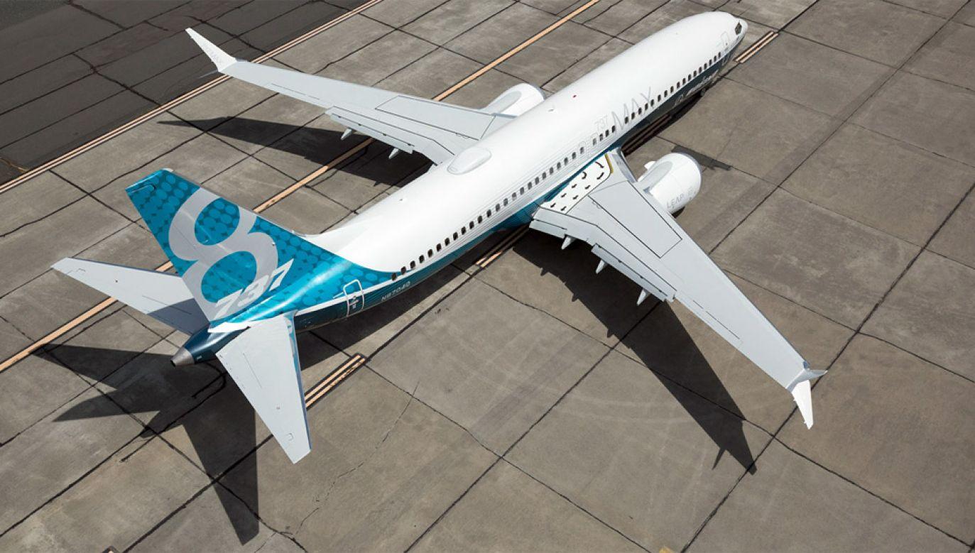 Boeingi 737 Max zostały uziemione po dwóch katastrofach, w których w sumie zginęło 346 osób (fot. mat.pras.)