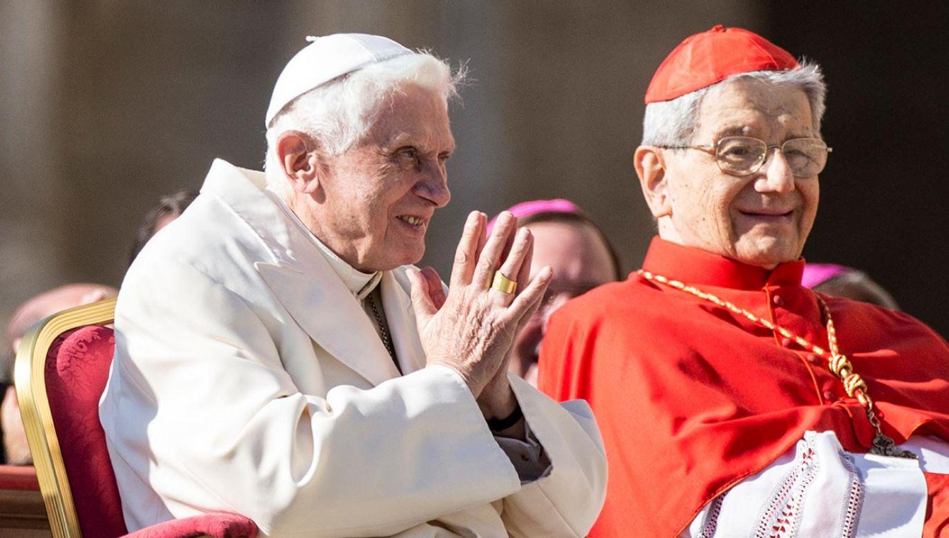 Papież choruje od czasu powrotu z Ratyzbony, gdzie odwiedził swego brata tuż przed jego śmiercią (fot.  Alessandra Benedetti/Corbis via Getty Images)