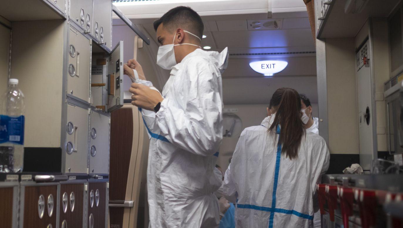 Do 34 wzrosła tym samym liczba osób, u których od stycznia stwierdzono obecność koronawirusa (fot. PAP/Arek Rataj)