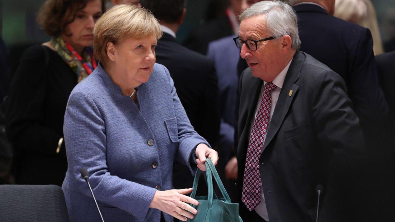 Angela Merkel zasugerowała, że państwa narodowe powinny być gotowe do przekazania swojej suwerenności (fot. Sean Gallup/Getty Images)