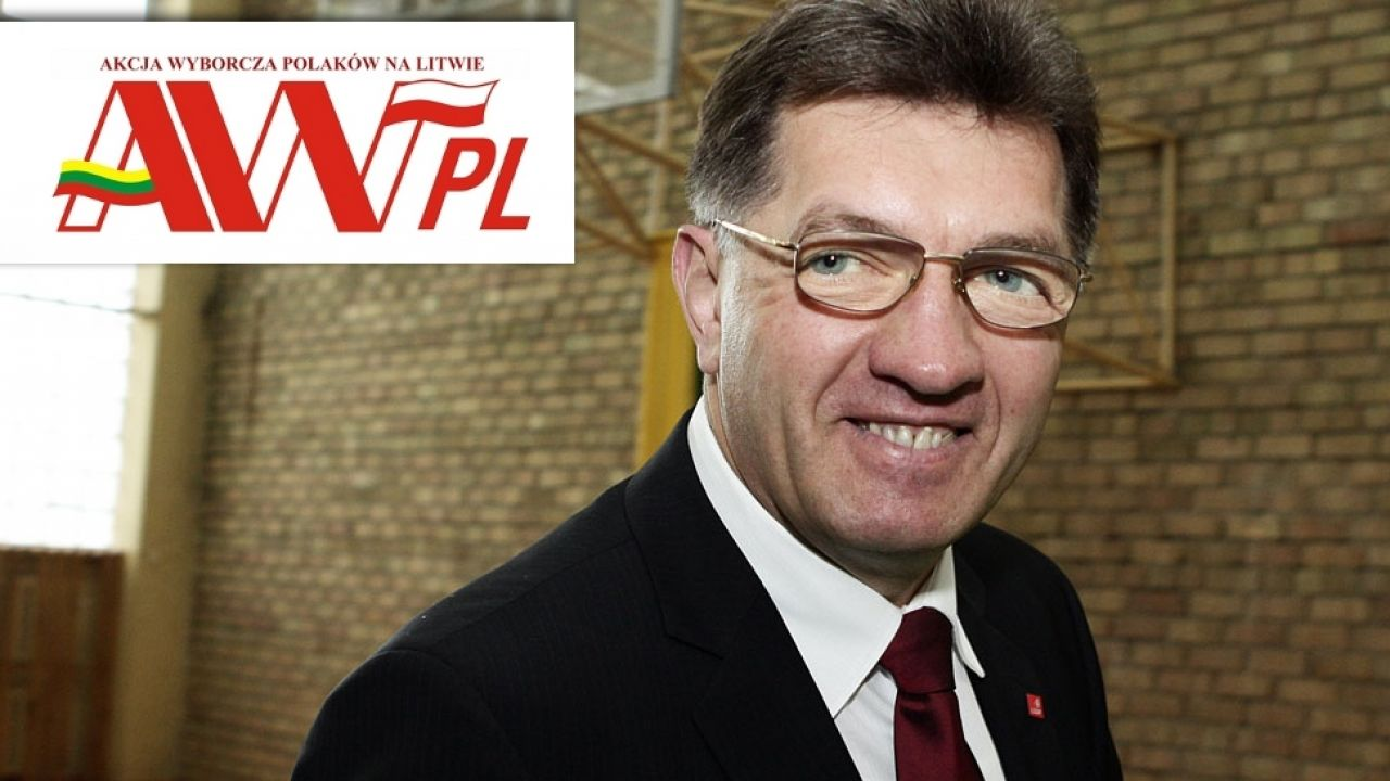 Premier Litwy wypowiedział się krytycznie o działaniach AWPL (fot. Wikipedia/ Kapeksas)