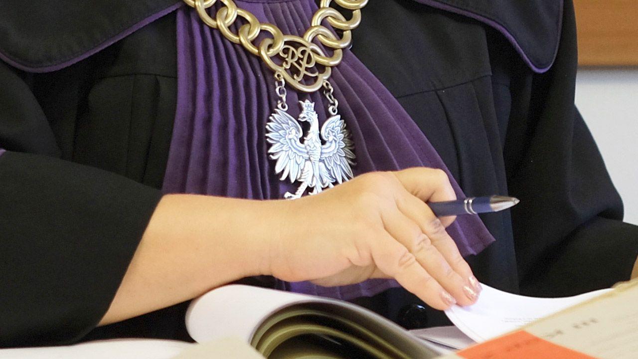 Proces Angeliki i Szymona B. oskarżonych o śmierć 2-letniej Lilianki z Piły toczył się przed Sądem Okręgowym w Poznaniu (fot. PAP/Andrzej Grygiel)