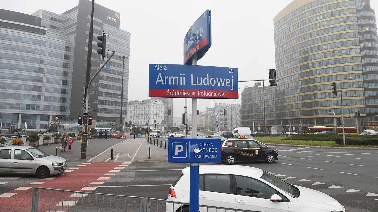 NSA podtrzymał w piątek wyroki Wojewódzkiego Sądu Administracyjnego o uchyleniu 44 zarządzeń wojewody, zmieniających nazwy ulic w Warszawie (fot. arch. PAP/Radek Pietruszka)