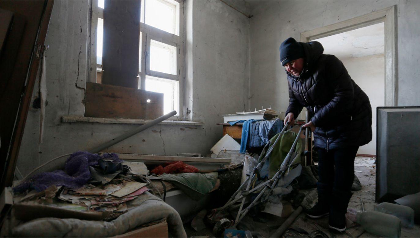 Wojna w Donbasie trwa od 2014 roku (fot. PAP/EPA/DAVE MUSTAINE)