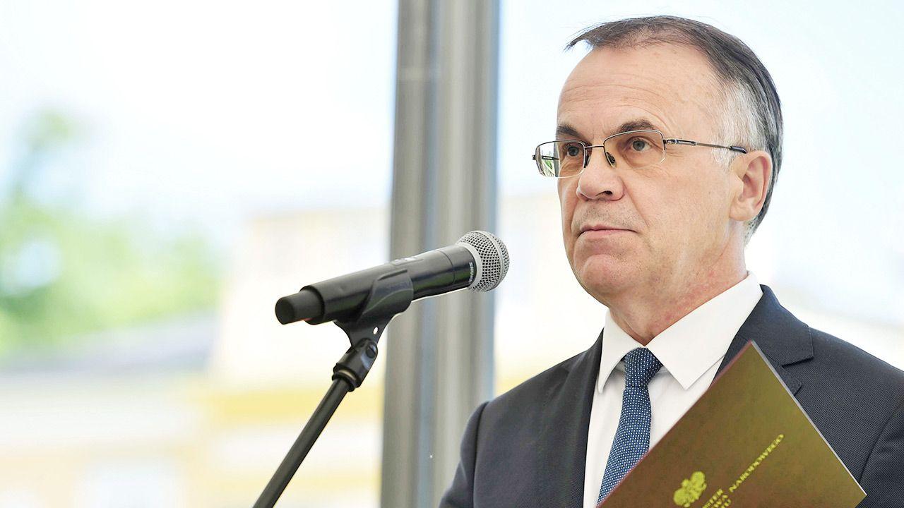 Wiceminister kultury Jarosław Sellin podkreślił, że dyscyplina będzie dotyczyła wszystkich koalicjantów (fot. PAP/Piotr Nowak)