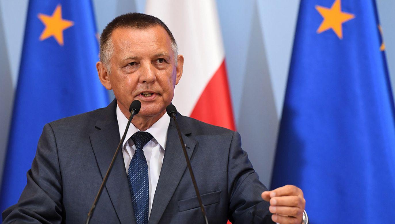 CBA kontroluje oświadczenia majątkowe szefa NIK (fot. arch. PAP/Radek Pietruszka)