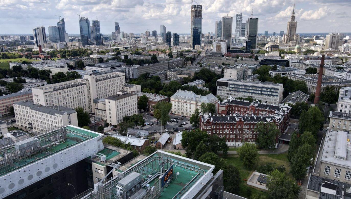 WSA utrzymał decyzję komisji weryfikacyjnej ws. odszkodowania za Borzymowską 34/36 (fot. Jaap Arriens/NurPhoto via Getty Images)
