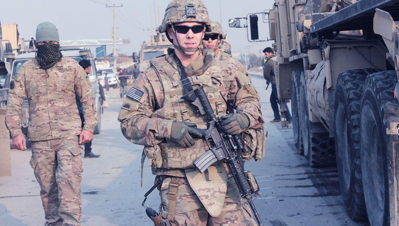 Amerykańskie wojska mają wycofać się z Afganistanu do 11 września (fot. NurPhoto/NurPhoto via Getty Images)