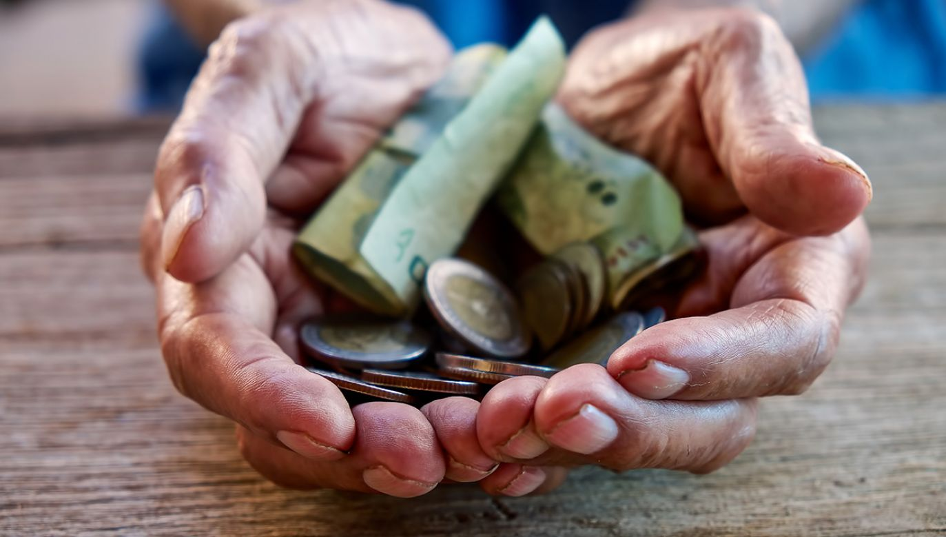 pieniądze należały do 69-letniej mieszkanki Opola (fot. Shutterstock/mrmohock)