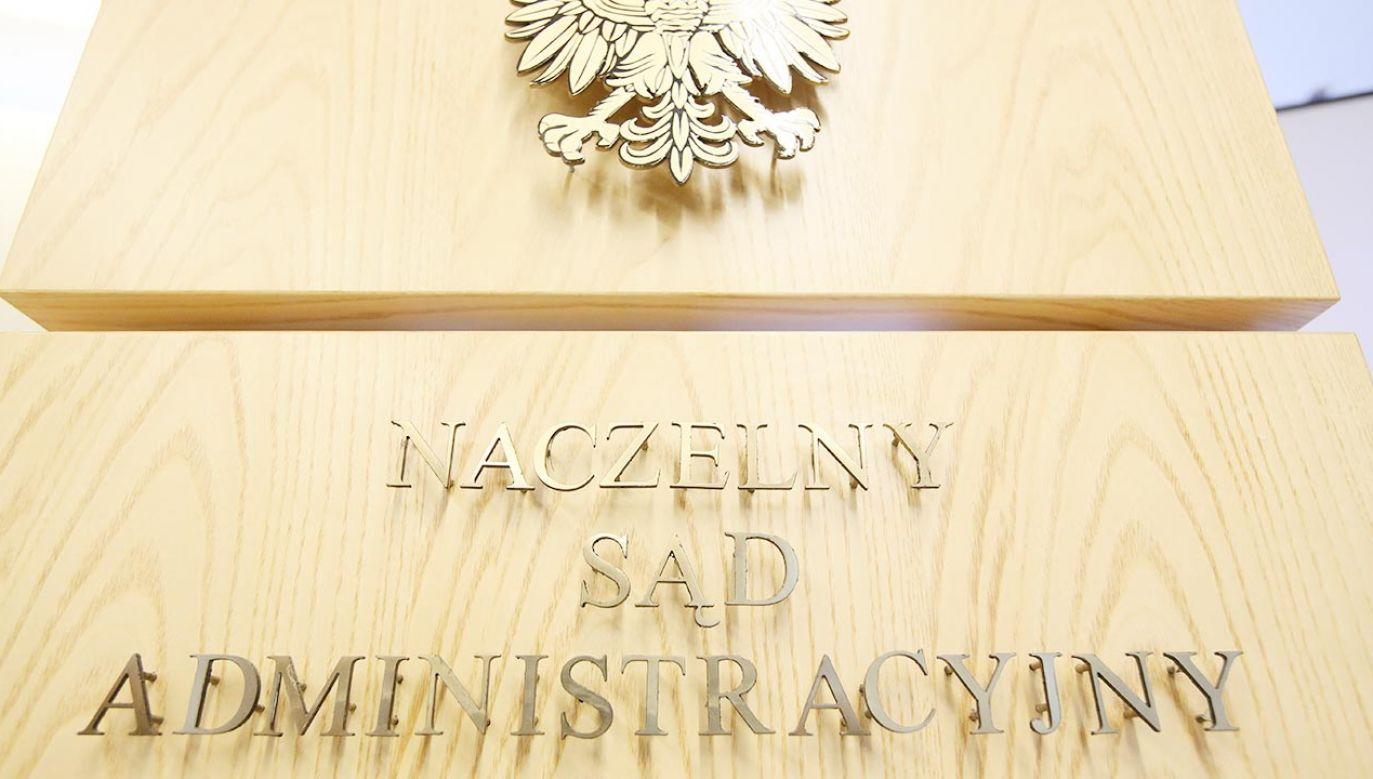 Naczelny Sąd Administracyjny (fot. PAP/Leszek Szymański)
